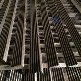 Commerciële Nosing van de Trede van het Carborundum van de Legering van het Aluminium niet van de Steunbalk van de Bouw Zwarte