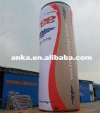 広告のための一義的なデザイン12m膨脹可能な缶モデル