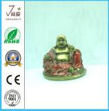 Resina Buddha, antigüedad de Polyresin riendo Maitreya Buddha