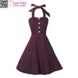 robe sans bretelles L36194 de cru des années 50