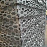 De het geperforeerde die Scherm en Voorzijde van het Aluminium van het Profiel van de Geperforeerde Comités van het Aluminium wordt gemaakt