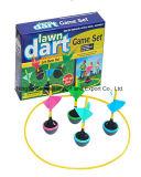 El juego del dardo del jardín de los cabritos y de los adultos fijó para los varios colores