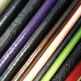 Хорошая кожа PU ощупывания руки для ботинок или мешков (HS-M009)