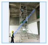 安全なセリウムの装飾のための公認アルミニウム足場タワー