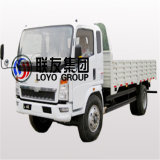 Sinotruck HOWO 4X2の左の運転の4トンの軽量トラックの貨物トラック
