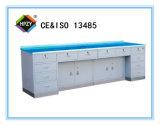 (C-59)ステンレス鋼ベースが付いている合成のワークテーブル