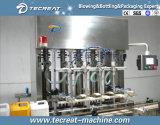 Machines de mise en bouteilles comestibles d'huile de cuisine de la bouteille 5L automatique
