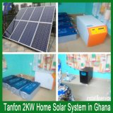 5kw солнечная система вполне для домашней установки крыши, электричество 5kw для дома