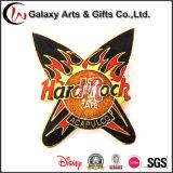 Kundenspezifischer MetallHardrock-Decklack-fördernde Medaille mit Pin