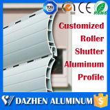 Profil en aluminium d'obturateur en aluminium mieux vendu de rouleau avec des couleurs
