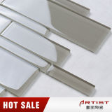 Hotselling Wholesale Strips Verre Stone Mosaic Tile