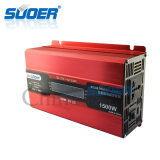 Suoer 1500W 12V aan 220V Intelligent Solar Power Inverter met LCD Display (sdb-D1500A)