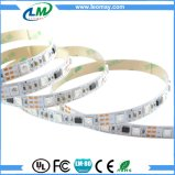 12V 5M Blanco PCB WS1903 impermeable IC 5050 RGB color ideal 48LED / M LED Pixel Strip