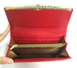 새로운 프레임 디자인 PU 숙녀 Wallet 또는 새로운 여자 지갑의