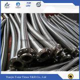 Edelstahl-Metalschlauch, 304 flocht gewölbten flexibles Metalschlauch