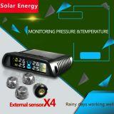 Sistema de vigilancia solar auto de la presión de neumático del nuevo coche TPMS