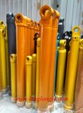 Cylindre de pétrole de cylindre hydraulique pour des pièces de déplacement de terres d'excavatrice