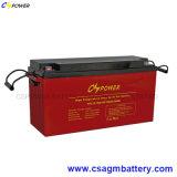 Батарея 12V 150ah геля глубокого цикла солнечная для горячей области