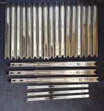 pleines glissières de tiroir roulement à billes de glissières de tiroir de prolonge de 45mm