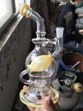 Klassischer Qualitäts-Borosilicat-Schädel-rauchender Wasser-Rohr-Glasbecher mit Fabrik-Preis