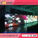 Visualización de LED a todo color al aire libre del vídeo P10 para la promoción