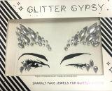 Стикер диаманта слипчивого акрилового самоцвета стикера кожи глаза яркия блеска Bling кристаллический (S007)