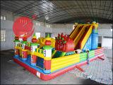 Aufblasbares Spaß-Stadt-Vergnügungspark-aufblasbares Spielzeug für Kinder T6-032