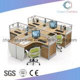 Sitio de trabajo modificado para requisitos particulares de la partición de la oficina del alto grado