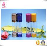 Bouteille privée d'air cosmétique de pompe de couleur de fantaisie