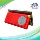 Altavoz profesional estéreo de Bluetooth del mini soporte portable del altavoz con el sostenedor del teléfono