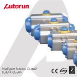 Actuador neumático de Wenzhou de la vuelta cuarta temporaria doble china del fabricante