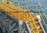 Câmara de ar da fibra de vidro dos perfis de GRP/Grating do Pultrusion Tube/FRP Prpfiles/FRP