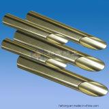 アルミニウム真鍮の管、C68700 Al黄銅の管、黄銅C44300の海水の脱塩、熱交換器、真鍮の継ぎ目が無い管のための銅のニッケルC70600 C71500
