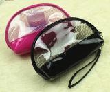 Bolso transparente impermeable del maquillaje del acoplamiento