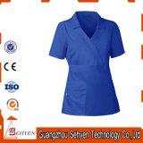 New Medical Womens Contrast Trim Scrub Nursing Uniforms