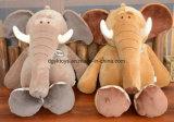 2017 het Nieuwe Super Zachte die Stuk speelgoed van de Olifant van de Pluche voor Baby met BenedenVeer wordt gevuld