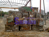 Prensa comprimida de aço da sucata para recicl (automático)