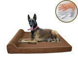 Amazonas-heißer Verkaufs-orthopädischer Speicher-Schaumgummi-Hundebett-Luxus