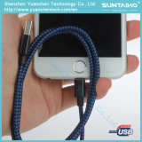 para iPhone7 ayuna el USB de carga al cable del relámpago