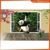 Картина маслом панды Kongfu напечатанная Inkjet для домашнего украшения