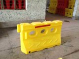 Hot Yellow LLDPE Chine Fournisseur Traffic Safety Plastic Water Barrier