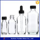 1oz löschen Boston-Glasflaschen mit Überwurfmutter
