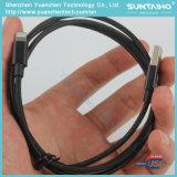 Cable trenzado de nylon del relámpago del USB