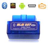 小型OBD Bluetoot2.0インターフェイスOBD2車のスキャンナーの自動診察道具Elm327 OBD2