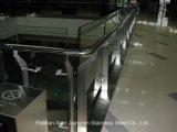 Самомоднейший отраженный законченный Railing поручня нержавеющей стали для балкона
