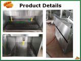 Populärer Küche-Geräten-Edelstahl-stehende Gas-Bratpfanne