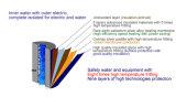 aquecimento imediato elétrico J1027 de Tankless do calefator de água quente do encanamento 3seconds