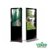 Suelo que coloca LCD al aire libre Samsung que hace publicidad de la visualización de pantalla