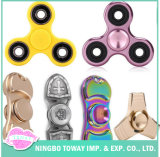 Relief Stress Fidget Toys Colorful Hand LED Fidget Spinner