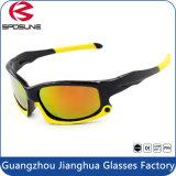 Bouclage dénommant les lunettes de soleil de navigation polarisées anti-éblouissantes légères d'aviron